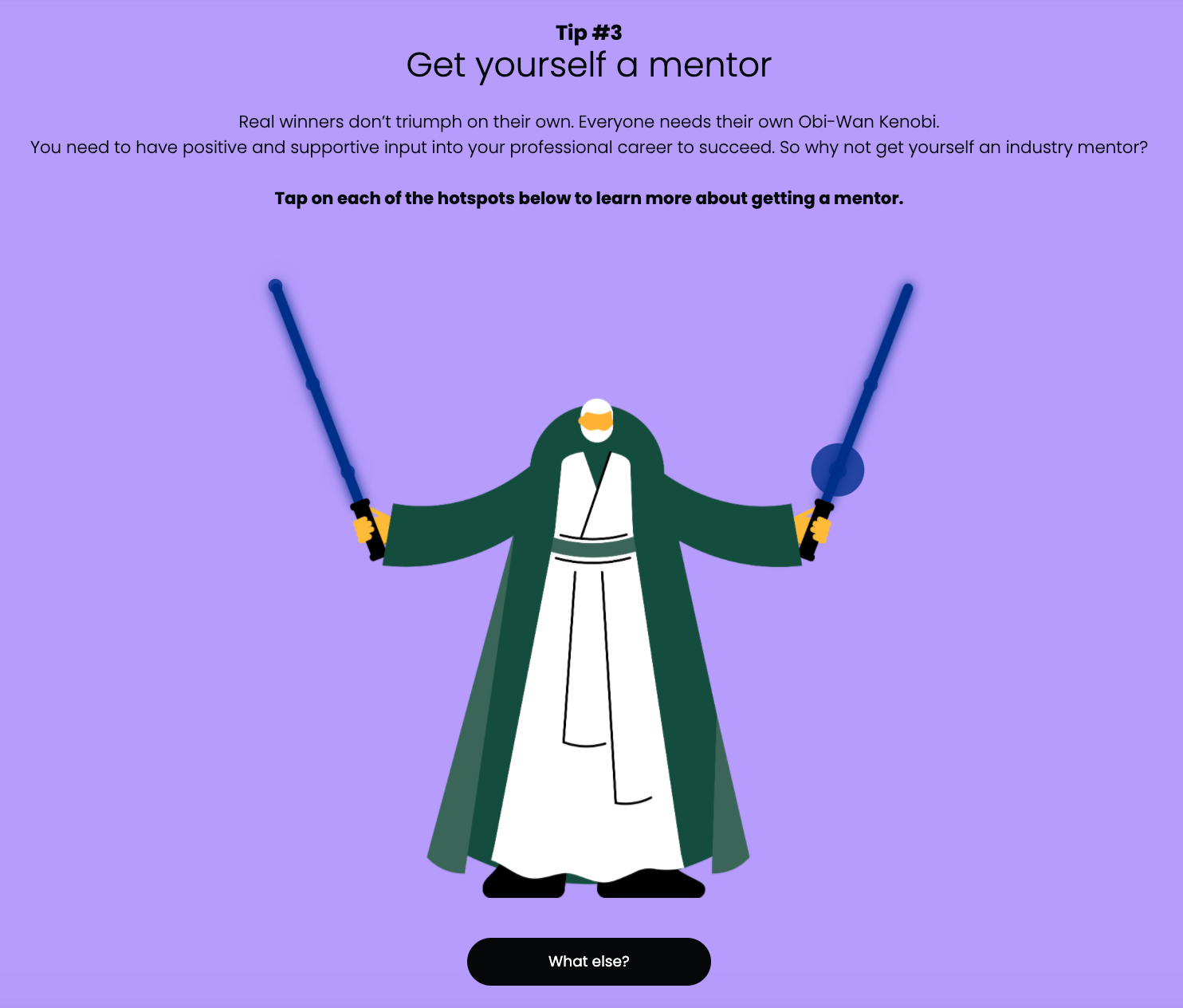 Obi Wan Hotspot example Chameleon