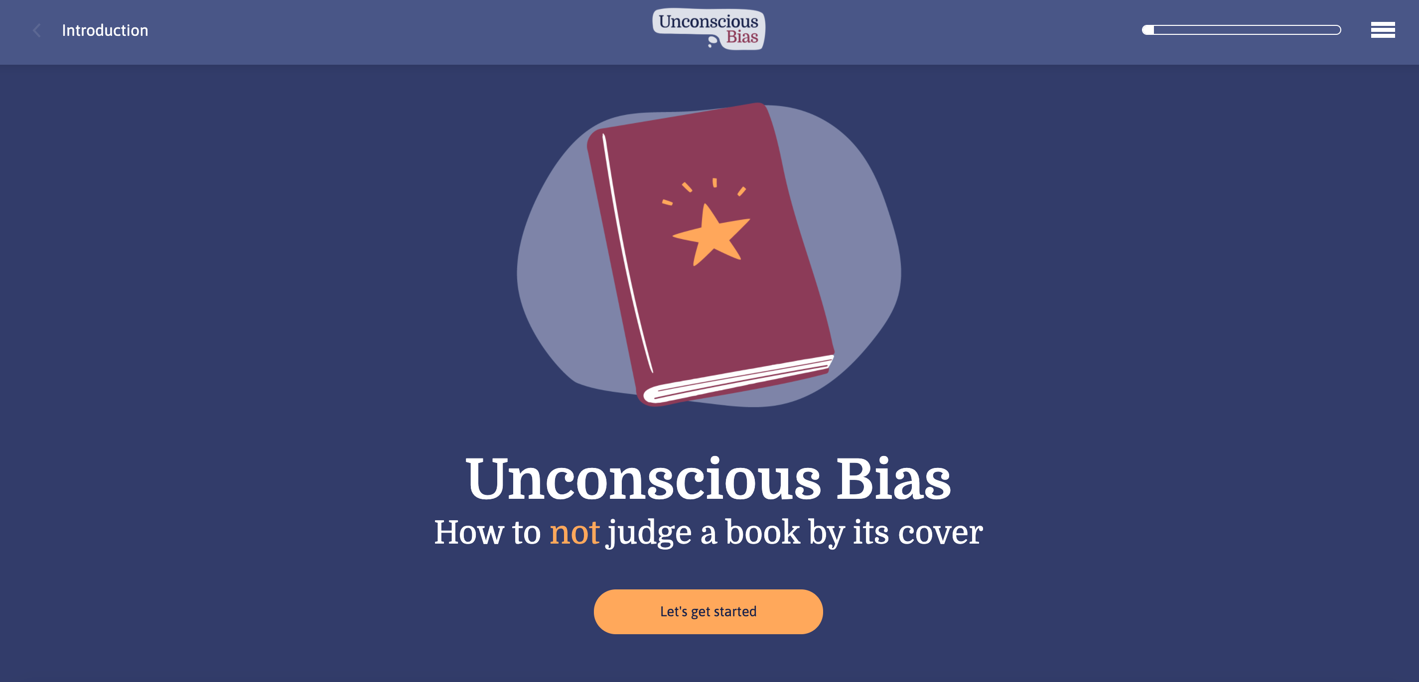 Unconscious Bias Cover Chameleon Interactions Splash Page Example